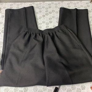 Alfred Dunner 10P Black Elastic Waist Trouser